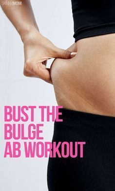 This Ab workout will help you get rid of that dreaded belly bulge!