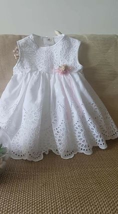 Nice for my beautiful Canelita. – Baby Kleidung – Join in the world of pin Frocks For Girls, Dresses Kids Girl, Little Girl Dresses, Kids Outfits, Flower Girl Dresses, Kids Frocks Design, Baby Frocks Designs, Baby Girl Dress Patterns, Baby Dress Design