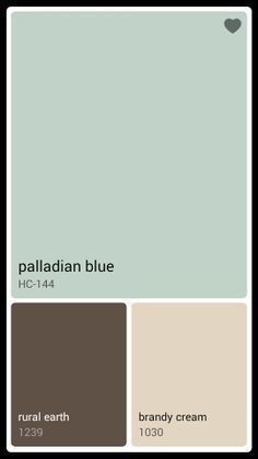 Laundry room color Palladian Blue