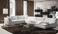 Luxury Sectional Sofa By Natuzzi Italy