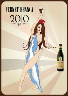 Another Fernet Branca poster with an Argentine theme :)