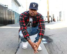 Dom Kennedy in the Air Jordan 3 White/Cement