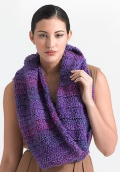Crochet Pattern For Scarf With Homespun Yarn : 1000+ images about Lion brand homespun on Pinterest Lion ...