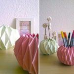 Origami: Gläser verschönern