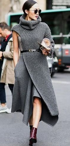 INSPIRATION // KNITWEAR #inspiration women fashion outfit clothing style apparel @roressclothes closet ideas
