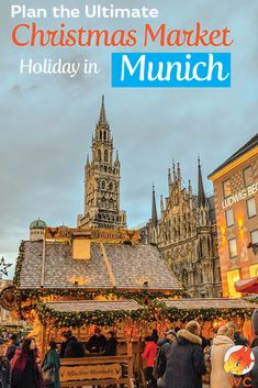 Plan the ultimate Christmas Market Holiday in Munich. Find the best Christmas Markets in Munich, the best Christmas foods to eat, try holiday drinks. German Christmas Markets, Christmas Markets Europe, Christmas Travel, Holiday Travel, Christmas Foods, Christmas Holiday, Holiday Market, Winter Holiday, Christmas Trips