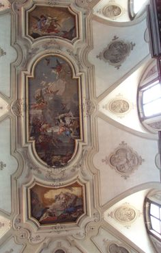 Tiepolo Ceiling Frescoes -- Chiesa dei Gesuati - Santa Maria del Rosario, Venice, Italy