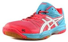 3fe1eb6ee Asics Asics Gel-Rocket 7 Women Round Toe Synthetic Pink Volleyball Shoes