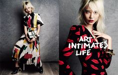 ART INTIMATES LIFE 春夏アート・スタイル、最前線! PHOTOGRAPHED BY VICTOR DEMARCHELIER STYLED BY AURORA SANSONE