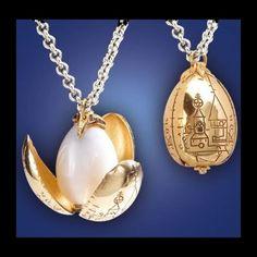Golden Egg necklace