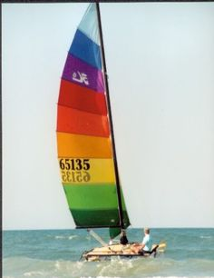 Hobie Cat 16 - Just like the boat I use to have....I want it back  Me too!