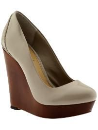 wedge addict... since I clearly cant walk in heels