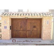 Image result for portones rusticos de madera