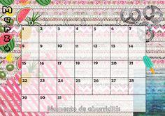 Calendario mensual #2015 - #Marzo