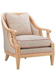 Inspired by the beauty and ambiance of Bermuda, the Shoal Bay Chair brings a touch of coastal character to your home while serving as a comfortable chair your guests will love.
