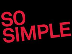 So Simple You Might Not Do it - YouTube