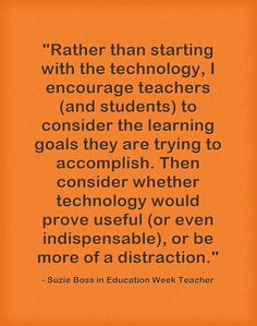 """""""Start With 'Learning Goals' Before Thinking About Tech"""" 