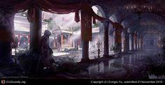 Assassin's Creed Brotherhood: Vatican Cloister, Donglu Yu (2D)