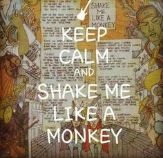 Shake me like a monkey BAAABY