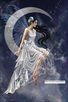 amy brown fairy moon - Google Search