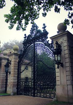 Gate to Marble House | Flickr - Photo Sharing!