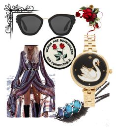 """Untitled #2354"" by bellagioia ❤ liked on Polyvore featuring Prada and Kate Spade"