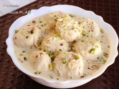 This Bengali dessert has taken the Sub-Continent by a revolution. Everyone is completely in love with rasmalai, whether they are kids who like milky dessert or grown-ups. A must try Rasmalai Recipe by Chef Tahir Chaudhary! Pakistani Desserts, Pakistani Recipes, Ras Malai Recipe, Indian Dessert Recipes, Indian Sweets, Indian Recipes, Creamy Potato Salad, Refreshing Desserts, Desi Food