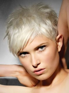 Resultado de imagen de pelo corto blanco