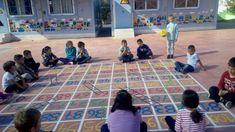 Το ωραιότερο σχολικό προαύλιο με επιδαπέδια παιχνίδια βρίσκεται στη Νάξο! #sxoleio #σχολειο #ναξος #naxos #ομορφοσχολειο #ωραιοσχολειο #σχολειοναξος Picnic Blanket, Outdoor Blanket, Basketball Court, Sports, Hs Sports, Sport, Picnic Quilt