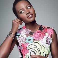 #monday Muse: @glamourmag's December Cover Star Lupita Nyong'o Has Made It Her Mission To Redefine Beauty And Success. How Will You #beyourbrightest By Rocksbox