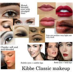 Kibbe Classic makeup