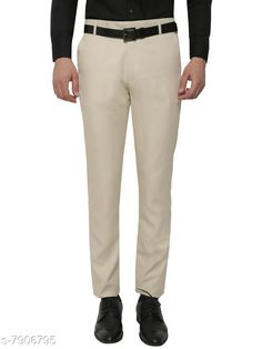 Checkout this latest Trousers Product Name: *Beige Slim Fit Formal Trouser * Fabric: Polyester Pattern: Solid Multipack: 1 Sizes:  28 (Waist Size: 28 in, Length Size: 41 in)  30 (Waist Size: 30 in, Length Size: 41 in)  32 (Waist Size: 32 in, Length Size: 41 in)  34 (Waist Size: 34 in, Length Size: 41 in)  36 (Waist Size: 36 in, Length Size: 41 in)  38 (Waist Size: 38 in, Length Size: 41 in)  40 (Waist Size: 40 in, Length Size: 41 in)  Country of Origin: India Easy Returns Available In Case Of Any Issue   Catalog Rating: ★3.9 (320)  Catalog Name: Fashionable Glamarous Men Trousers CatalogID_1299982 C69-SC1212 Code: 174-7906795-9901