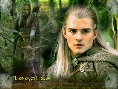 Orlando Bloom as Prince Legolas Greenleaf (Lord of the Rings)