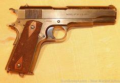 Fine WWI Colt Model 1911 Pistol, 1918 : Curios & Relics at GunBroker.com