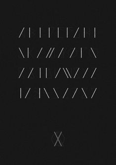A geometric typeface inspired by elements from 'Furthorc', An ancient runic alphabet used by the Anglo - Saxons. Created as a display face to be used at large scale.