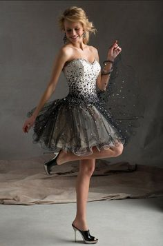 short prom dress for parties