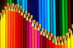 A POP OF COLOR! ▶ Colored Pencils
