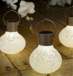 Allsop Home & Garden - Solar Tea Lantern - White White -