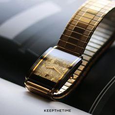"Vintage Rado Diastar ""Gold Nugget"" Dial | KeepTheTime Watches"
