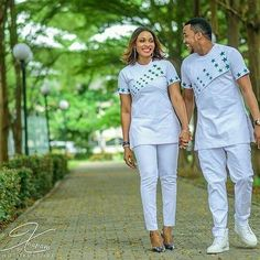 African couple clothing/African fashion/wedding suit/African couple dashiki /shirt and pants/ chemise et pantalon/Ankara styles/ prom dress Couples African Outfits, Couple Outfits, African Attire, African Wear, African Women, African Shirts, African Print Dresses, African Fashion Dresses, African Dress