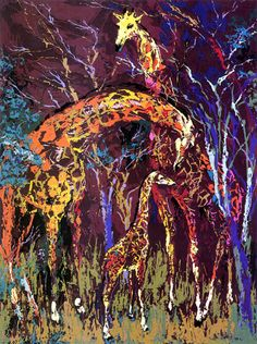 Giraffe Family by Neiman, LeRoy | Atkinson Fine Art