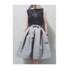 Item no.160(black lace)/474(grey silk) in store now at SiamSquare soi2 more info. please contact 02-658-4755 #poem #black #lace #grey #silk #skirt #fashion #vintage #classic #feminine - @poem_bkk- #webstagram