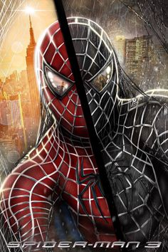 Sam Raimis Spider-Man 3 artwork by on DeviantArt Marvel Comics, Marvel Venom, Marvel Comic Universe, Marvel Art, Marvel Heroes, Marvel Avengers, Spiderman Sam Raimi, Black Spiderman, Spiderman Spider