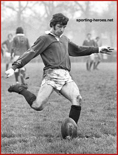 Barry John - Welsh rugby player. 9th December 1978.