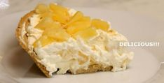 Cheesy And Mouthwatering No-Bake Pineapple Cheesecake – Desserts Corner