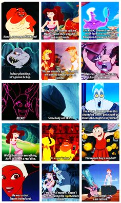 Hahaha some of why Hercules is one of my favorite Disney movies. <3