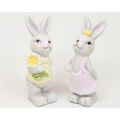 Húsvéti dekoráció : Nyuszipár