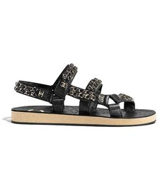 3f72e4faf1bf 64 Best Chanel Sandals images in 2019