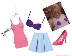 Cute Costume Idea: Regina George from Mean Girls #Halloween