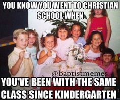 Or when you're homeschooled and you've been the only one in all your classes since pre school😂😂😂